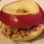 Apple PB Sandwich