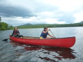 Madisyn & Olivia Canoeing