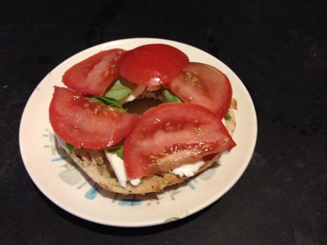 Tomato, Basil & Mozz Sandwich