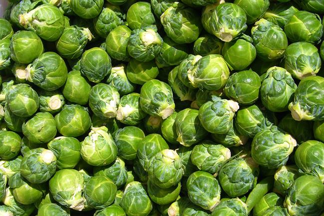 Maple Roasted Brussels Sprouts with PumpkinSeeds