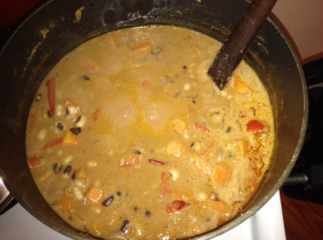 Sweet Potato Peanut Butter Stew 2