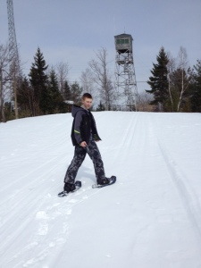 Kolbe Snowshoeing2