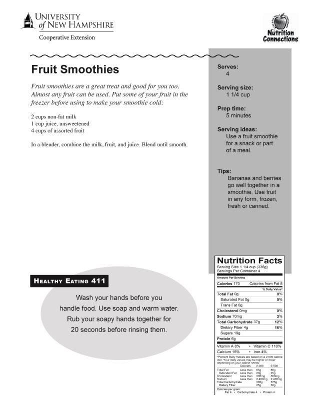 Fruit Smoo